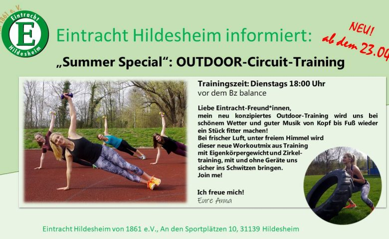 """""""Summer Special"""": OUTDOOR-Circuit-Training"""