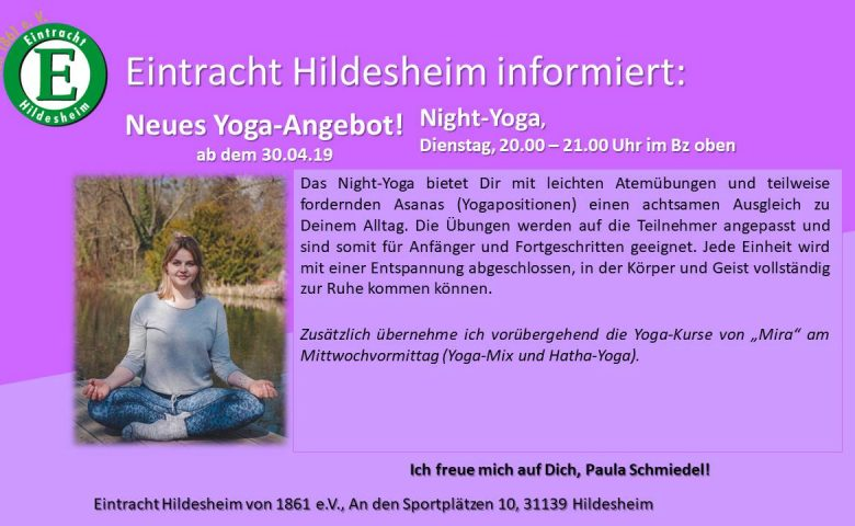 Neu: Night-Yoga